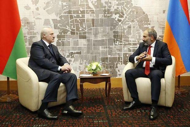 Paşinyan Lukaşenkoya Azərbaycandan şikayətləndi
