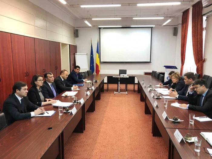 Sahil Babayev Rumıniyanın dövlət katibi ilə görüşüb