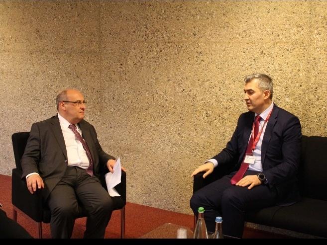 Vüsal Hüseynov Beynəlxalq Miqrasiya Təşkilatının baş direktoru ilə görüşdü