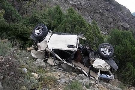 Şəmkirdə avtomobil aşdı - Ölən və yaralananlar var
