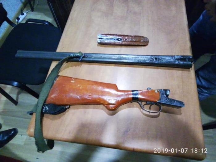 Sabirabadda ƏMƏLİYYAT - Qanunsuz silah-sursat aşkarlandı