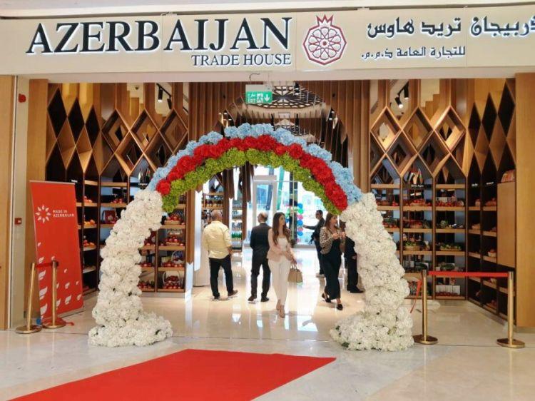 Dubayda Azərbaycan Ticarət Evi açılıb