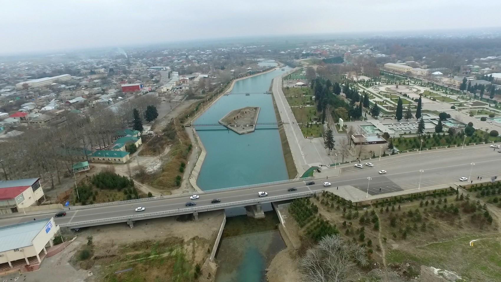 Azərbaycanda 26 metr uzunluğunda yeni körpü inşa edilib