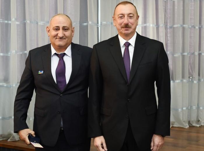 İbrahim İbrahimov İNK-da rəhbər vəzifədə - foto