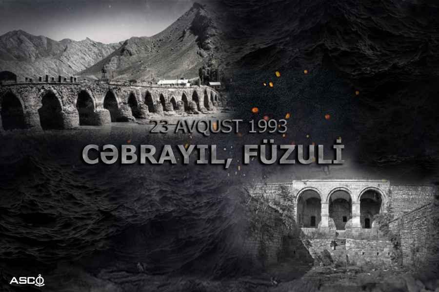 Füzuli və Cəbrayılın işğalından 27 il ötür